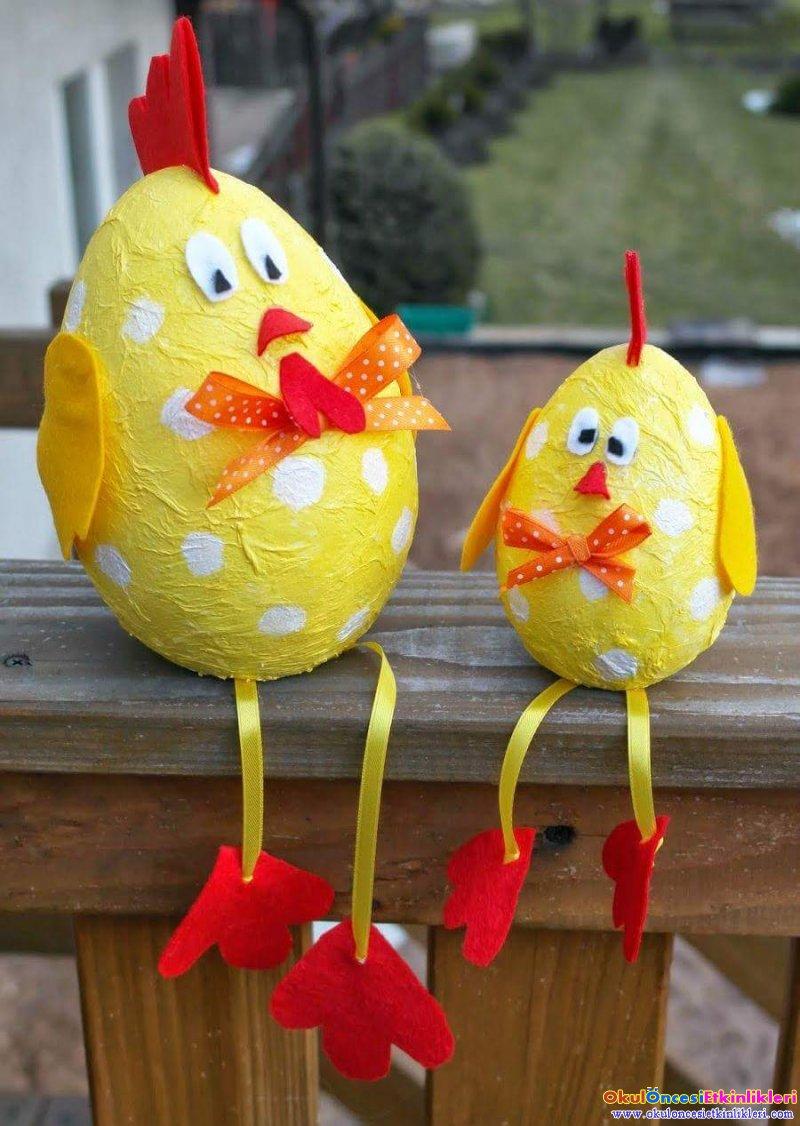 Yumurta Tavuklar Okul Oncesi Etkinlikleri Hayallerinizi