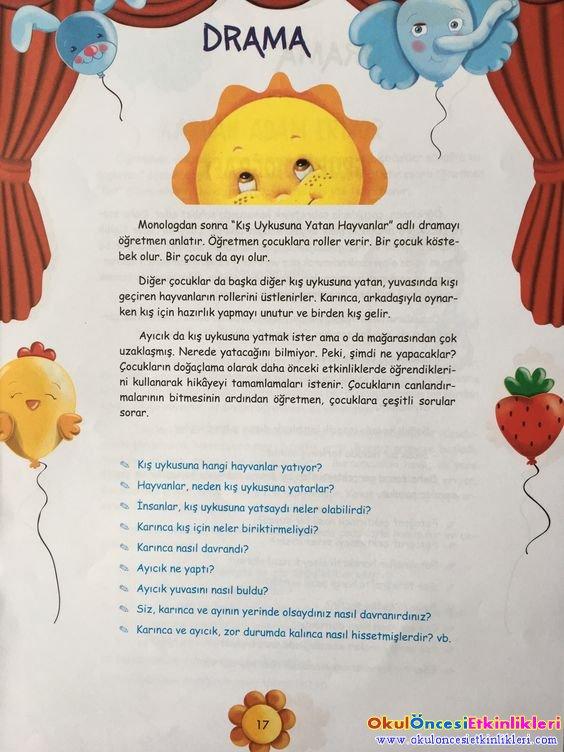 çeşitli Drama örnekleri Resimli Okul öncesi Etkinlikleri