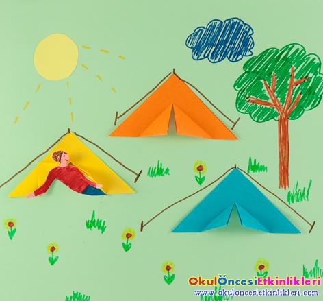 çadır Kent Okul öncesi Etkinlikleri Hayallerinizi Sınırlamayın
