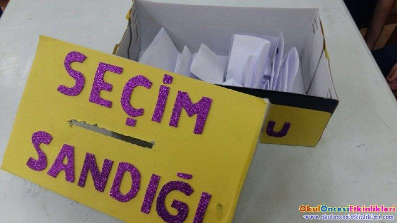 Bizim Seçimimiz Insan Hakları Ve Demokrasi Haftası Okul öncesi