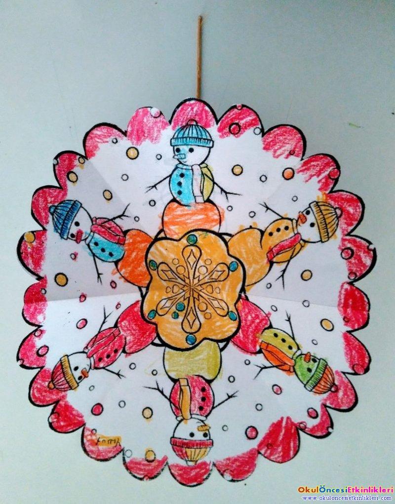 Renkli Kis Mandalalari Okul Oncesi Etkinlikleri Hayallerinizi